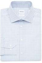 Armani Collezioni Slim Fit Plaid Dress Shirt