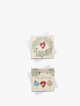 John Lewis & Partners Chinese Lanterns Charity Christmas Cards, Pack of 10