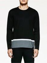 Calvin Klein Platinum Colorblock Long Sleeve Shirt