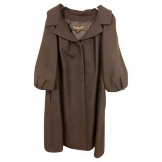 Giambattista Valli Black Wool Coat for Women
