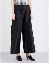 Marques Almeida Cargo Silk Trousers