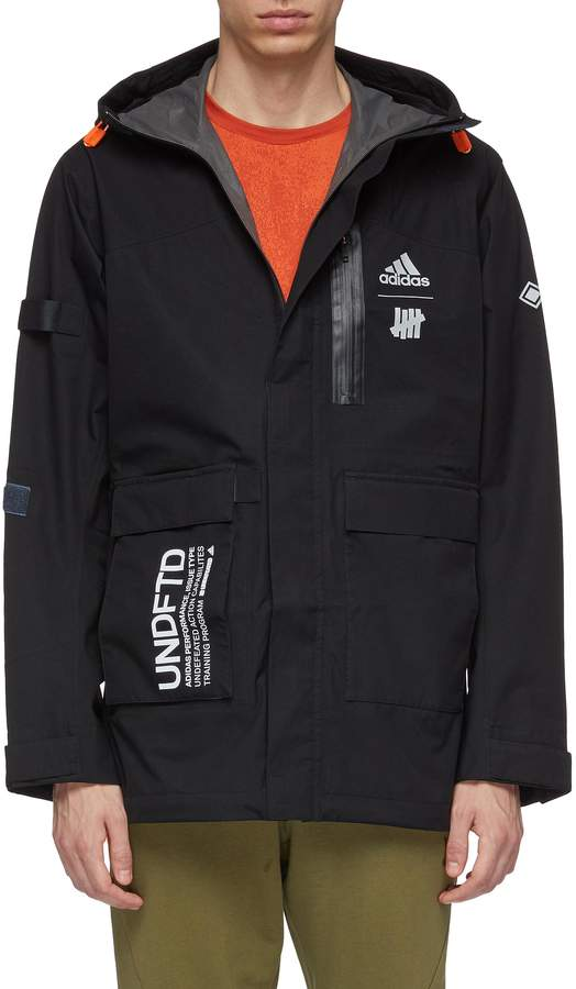 7740685f2cf91 Adidas Mens Hooded Jacket - ShopStyle