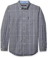 Ben Sherman Men's LS Plaid Shirt