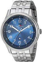 Tommy Hilfiger Men's 1710308 Classic Stainless Steel Blue Dial Watch