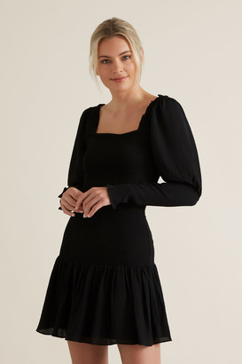 Seed Heritage Shirred Body Dress