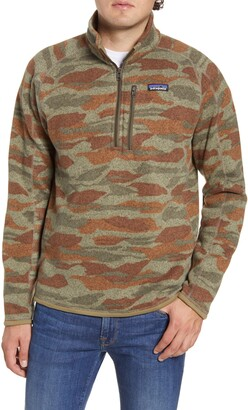 Patagonia Better Sweater(R) Quarter Zip Pullover