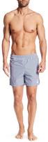 Save Khaki Gingham Print Guard Shorts