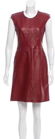 Derek Lam Leather Mini Dress