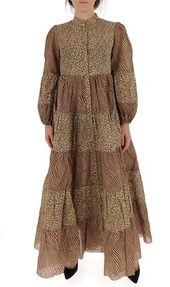 Zimmermann Empire Tiered Dress