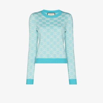 Gucci GG Supreme jacquard sweater