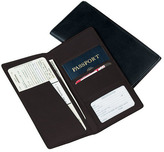 Royce Leather Passport Ticket Holder 211-10