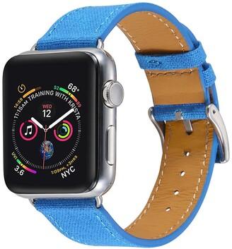 Posh Tech Blue Linen 42mm Apple Watch 1/2/3/4 Band