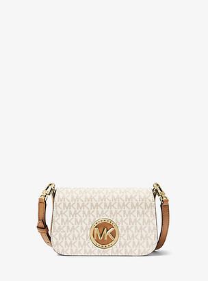 MICHAEL Michael Kors MK Samira Extra-Small Logo Convertible Crossbody Bag - Vanilla/acorn - Michael Kors