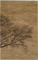 Capel Area Rug, Graphique 3391-775 Shadow Branch Bark 8' x 11'