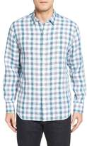 Tommy Bahama Men's Big & Tall Thira Check Linen Sport Shirt