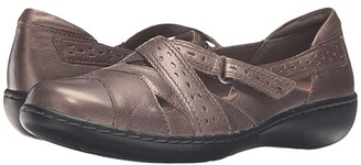 Clarks Ashland Spin Q (Navy) Women's Shoes