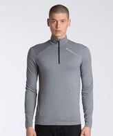 Peak Performance Graphic Zipped Base Layer T-Shirt