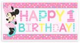 Disney Minnie Mouse 1st Birthday Banner