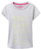Joules Girls' Screen Print T-shirt.