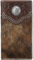 Ariat Calf Hair Concho Rodeo Wallet