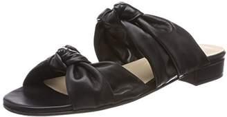 Gardenia COPENHAGEN Women's Gillisi Knot Open Toe Sandals, Softanil Black
