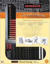 Asstd National Brand General's Charcoal Drawing Set