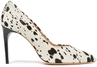 IRO Milo Printed Calf Hair Pumps