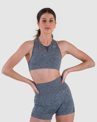 En Garde Apparel Seamless in Grise Crop Top