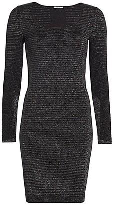 Wolford Luna Tonal Long-Sleeve Dress