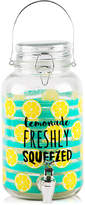 Home Essentials Lemonade 1-Gallon Glass Beverage Dispenser