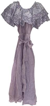 Gül Hürgel Purple Linen Dresses