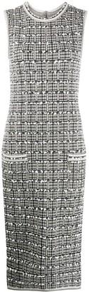 Thom Browne Sleeveless Tweed Dress
