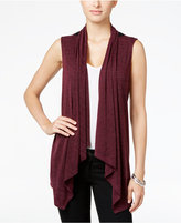 Style&Co. Style & Co. Draped Vest, Only at Macy's