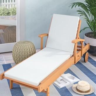 Mercury Row Kassiopeia Indoor/Outdoor Sunbrella Chaise Lounge Cushion (Set of 2