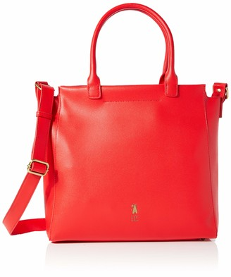Fly London Womens Ezan684fly Shoulder Bag Red (Red)