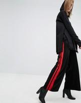 Cheap Monday Side Stripe Wide Leg Pants