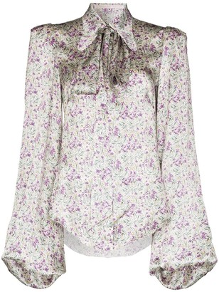 The Vampire's Wife Liberty floral print blouse