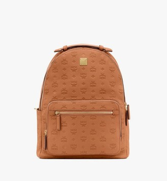 MCM Stark Backpack in Monogram Leather
