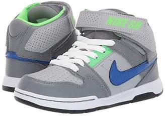 Nike Mogan Mid 2 Jr (Little Kid/Big Kid) (Wolf Grey/Game Royal) Boy's Shoes