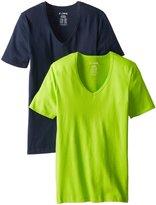 C-In2 Men's Baseflex 2-Pack High V-Neck T-Shirt