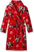 Disney Big Girls' Minnie Mouse Robe
