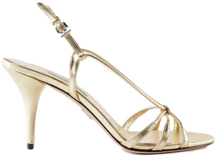 Prada Buckle Strap Sandals