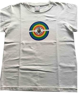 A Bathing Ape White Cotton Top for Women