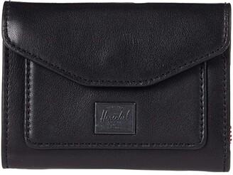 Herschel Orion Wallet Leather RFID (Black) Wallet