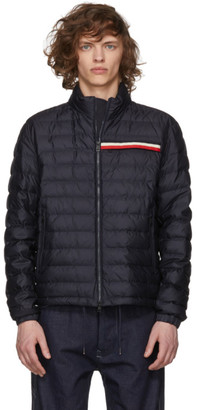 Moncler Navy Down Edgar Jacket