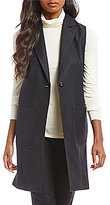 Pendleton Worsted Wool Flannel Long Suit Vest