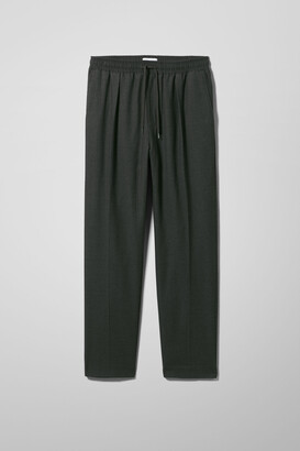 Weekday Thriller Woven Joggers - Black