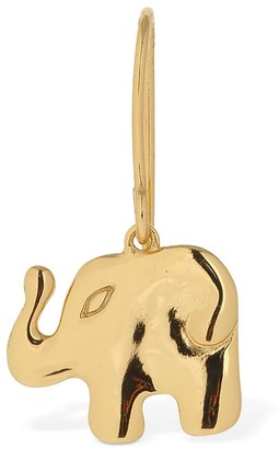 Aurélie Bidermann Aurelie Elephant Drop Mono Earring
