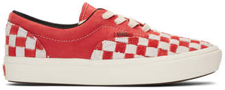 Vans Red and White ComfyCush Era L Sneakers