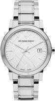 Burberry Watch, Men's Swiss Stainless Steel Bracelet 38mm BU9000